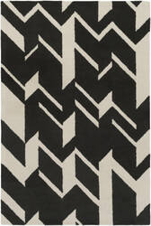 Surya Hilda Annalise Black - White Area Rug