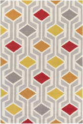 Surya Hilda Gisele Red - Orange Multi Area Rug