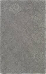 Surya Hermitage Cooper Charcoal - Grey Area Rug