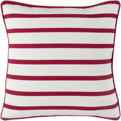 Surya Holiday Pillow Peace Holi7265 Crimson Red