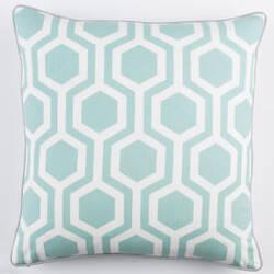 Surya Inga Pillow Thea Mint - White