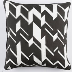 Surya Inga Pillow Josefine Black - White