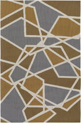 Surya Joan Holloway Gold - Dark Gold - Grey Area Rug