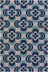 Surya Joan Everston Navy Blue - Aqua Area Rug