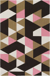 Surya Joan Fulton Pink - Tan - Black Area Rug