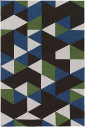 Surya Joan Fulton Blue - Green - Black Area Rug
