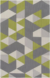 Surya Joan Fulton Lime - Gray - Light Gray Area Rug