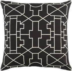 Surya Kingdom Pillow Lei Black - White
