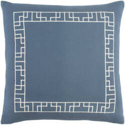 Surya Kingdom Pillow Rachel Blue - White