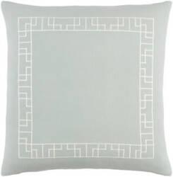 Surya Kingdom Pillow Rachel Dusty Aqua - White
