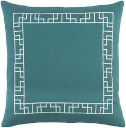 Surya Kingdom Pillow Rachel Teal - White