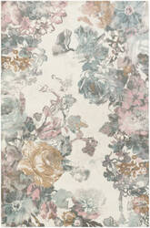 Surya Madeline London Multi-Colored - Pink Area Rug