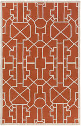 Surya Marigold Leighton Poppy Red Area Rug