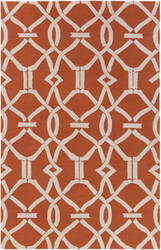 Surya Marigold Serena Poppy Red Area Rug