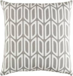 Surya Trudy Pillow Nellie Gray - White