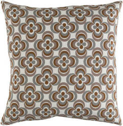 Surya Trudy Pillow Rosa Gray Multi