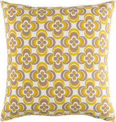 Surya Trudy Pillow Rosa Yellow Multi