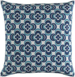Surya Trudy Pillow Rosa Blue Multi
