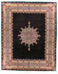 Atiyeh Kerman AT1917 Black Area Rug