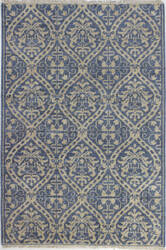 Bashian Artifact A154-Ar107 Azure Area Rug