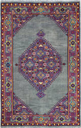 Bashian Artifact A154-Ar102 Grey Area Rug