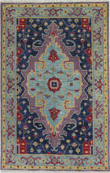 Bashian Artifact A154-Ar113 Lilac Area Rug