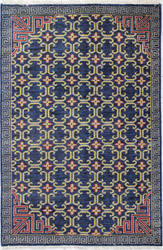 Bashian Artifact A154-Ar106 Navy Area Rug