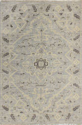 Bashian Artifact A154-Ar109 Silver Area Rug