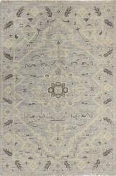 Bashian Artifact A154-Ar109 Silver Area Rug