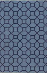 Bashian Hampton D105-Fw19 Blue Area Rug