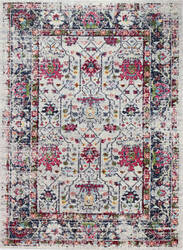 Bashian Dakota Mh104 Ivory - Blue Area Rug
