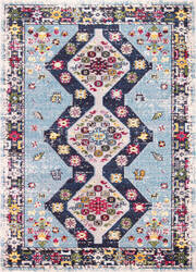 Bashian Dakota Mh109 Light Blue Area Rug