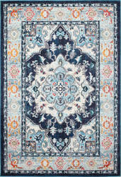 Bashian Dakota Mh106 Navy Area Rug