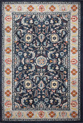 Bashian Dakota D113-Mh118 Navy Area Rug