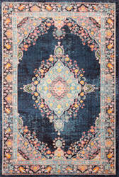 Bashian Dakota D113-Mh122 Navy Area Rug