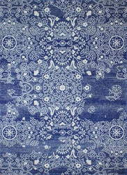 Bashian Everek 5658a Dark Blue Area Rug