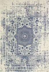 Bashian Everek E110-5438a Ivory-Blue Area Rug