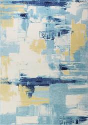Bashian Everek E110-5470 Ivory - Blue Area Rug