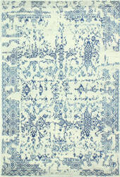 Bashian Everek E110-Mo748 Ivory-Blue Area Rug