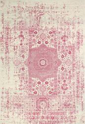 Bashian Everek E110-5438a Ivory-Fuchsia Area Rug