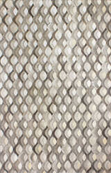 Bashian Santa Fe H112-H29 Grey Area Rug