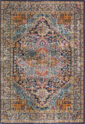 Bashian Heritage H114-Z034 Dark Blue Area Rug