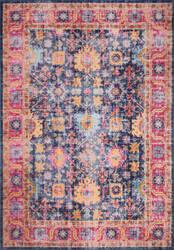 Bashian Heritage H114-Z055a Dark Blue Area Rug