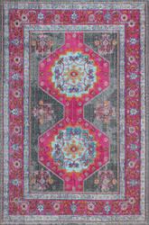 Bashian Heritage H114-Z051a Grey Area Rug