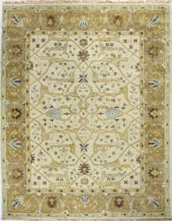 Bashian Vintage I123-Hsa101 Ivory - Gold Area Rug