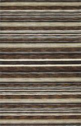 Bashian Contempo S176-Alm76 Chocolate Area Rug
