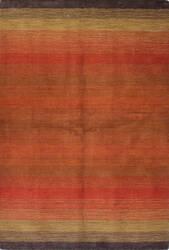 Bashian Contempo S176-Alm195 Red Area Rug
