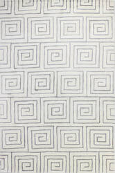 Bashian Norwalk S217-Vw206 White - Grey Area Rug