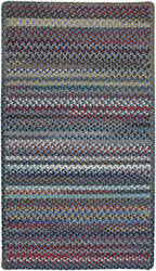 Capel Bunker Hill 0195 Medium Blue Area Rug