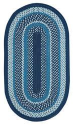 Capel Anthony Baratta Oceanic 382 Dark Blue Area Rug